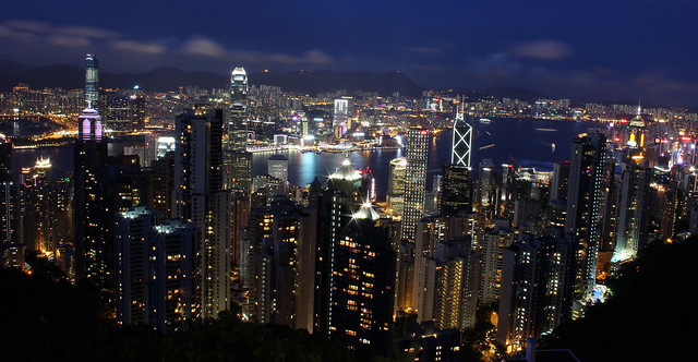 Hong Kong Day & Night
