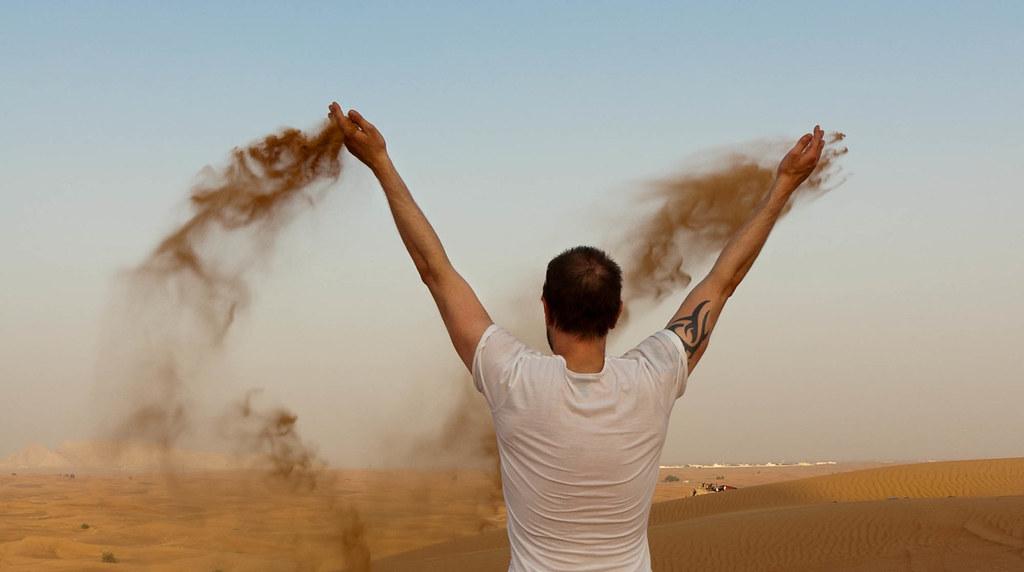 Svein Erik i De Forente Arabiske Emirater
