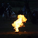 Small photo of Fire of a knight