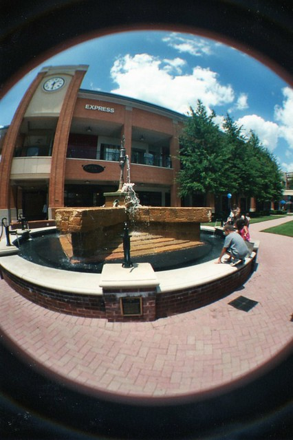 Short Pump Town Center Lomography Fisheye