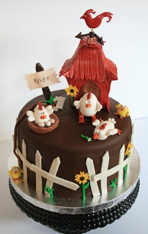 Chicken Farm Cake Flickr Photo Sharing