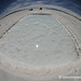 Fisheye View of Salt Water Pools at the Salinas Grandes - Argentina