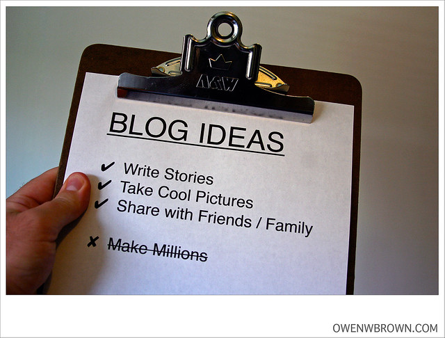 BLOG IDEAS from Flickr via Wylio