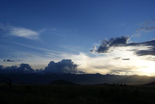 sunset sun mountains weather clouds rockies colorado rays sunrays coloradoreunion