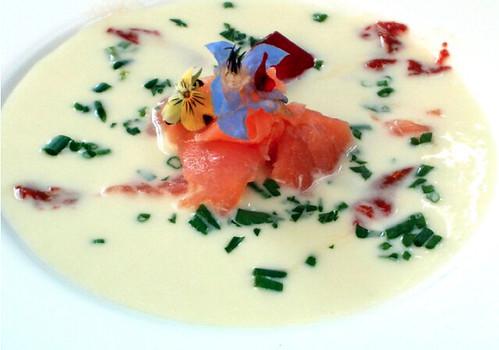 recetas de cocina, vichyssoise, recetas fáciles, soja, puerros, gastronomía, humor, curiosidades