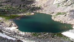 reservoir, volcanic crater, lake, geology, aerial photography,