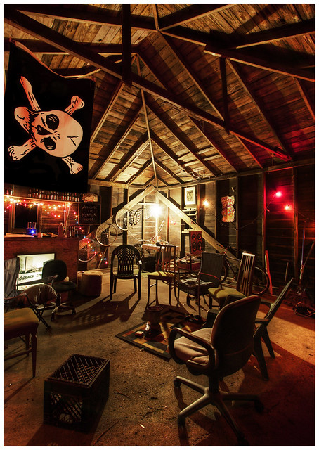 Small Attic Man Cave : The man cave flickr photo sharing