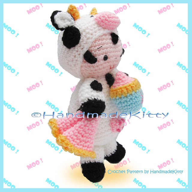 Crochet Cow Patterns - Free Crochet Patterns