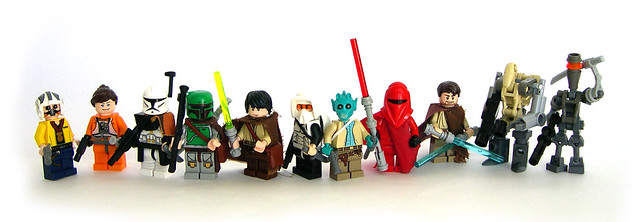 Star Wars 10 Day Series Group Shot