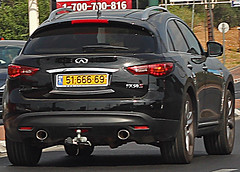automobile, automotive exterior, sport utility vehicle, wheel, vehicle, automotive design, infiniti qx70, compact sport utility vehicle, crossover suv, bumper, infiniti, land vehicle,