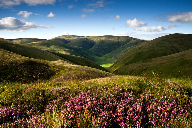 The Dalveen Pass from Blackhill, Dumfries and Galloway