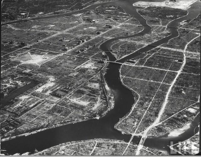 Hiroshima 1945, by George Silk