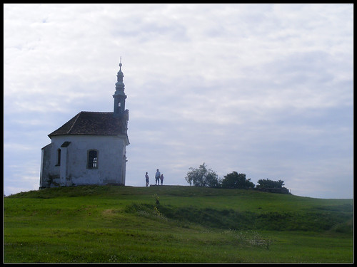 people green church grass hungary tata gothic chapel calvary greengrass calvaryhill picswithframes