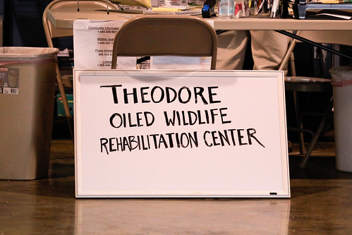 Theodore Oiled Wildlife Rehabilitation Center