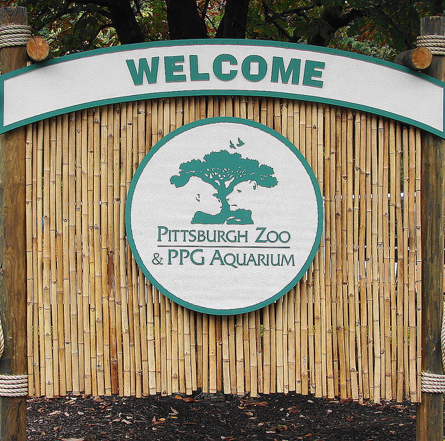 Pittsburgh Zoo & PPG Aquarium Welcome sign | Flickr ...