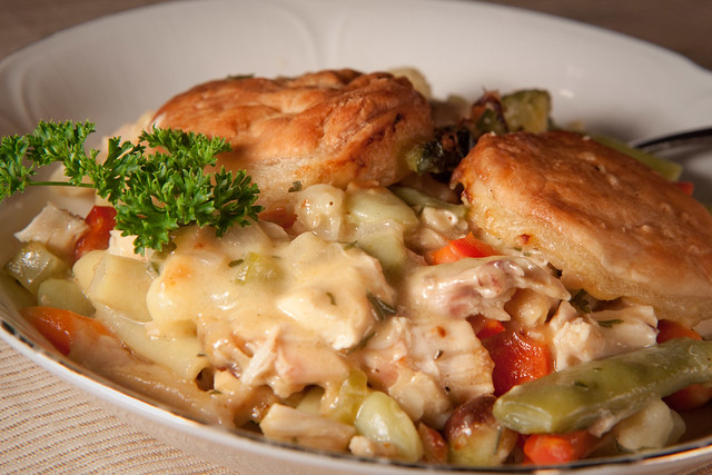 Alton Brown Curry Chicken Pot Pie - Aug 10 | Flickr - Photo Sharing!