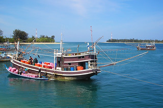 Phuket Fishermen - taken from Thep Krasattri Bridge