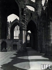 Melrose Abbey, Scotland, by E.O. Hoppe c.1925
