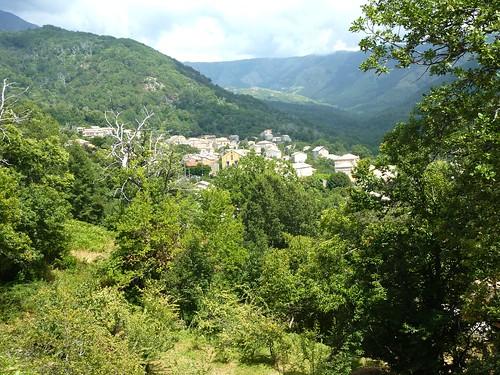 Le village de Bastelica