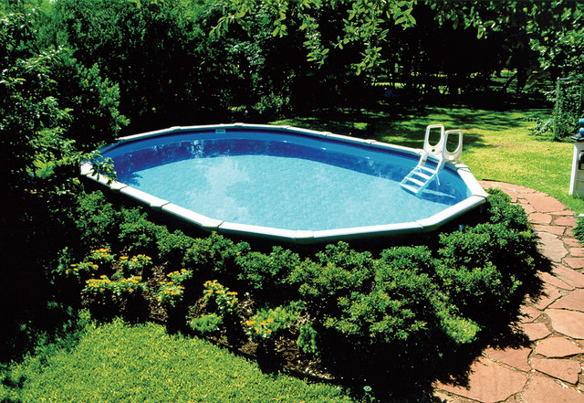 Garden Ideas Around Above Ground Pool : Landscaping around an above ground pool flickr photo