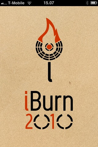 BURNING MAN IPHONE APP
