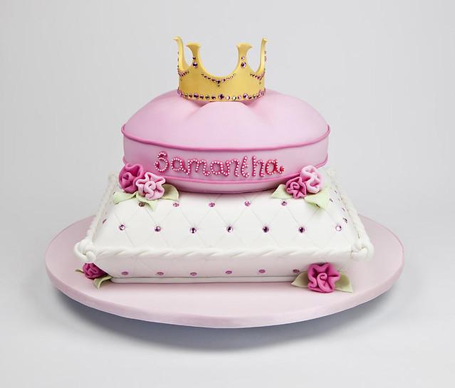 Samantha's Princess Pillow Cake