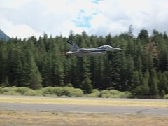F-16C High-speed Flyby at TVL