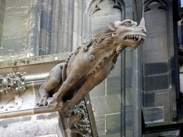 Cologne Cathedral Gargoyles Cologne Cathedral Gargoyle 1