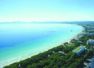 Image de Platja de Muro (Playa de Muro) Plage d'une longueur de 1648 mètres près de Port d'Alcúdia. bay alcudia playademuro alcudiabay majorcabeach