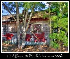 Old Barn @ Ft Steilacoom WA