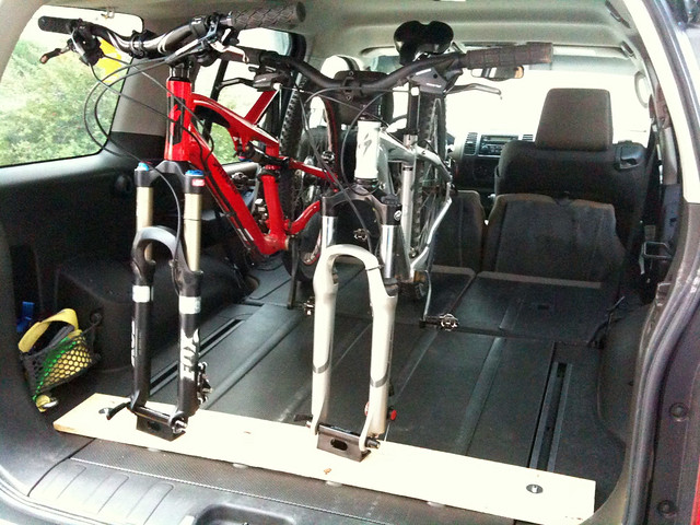 Custom Xterra MTB Mount