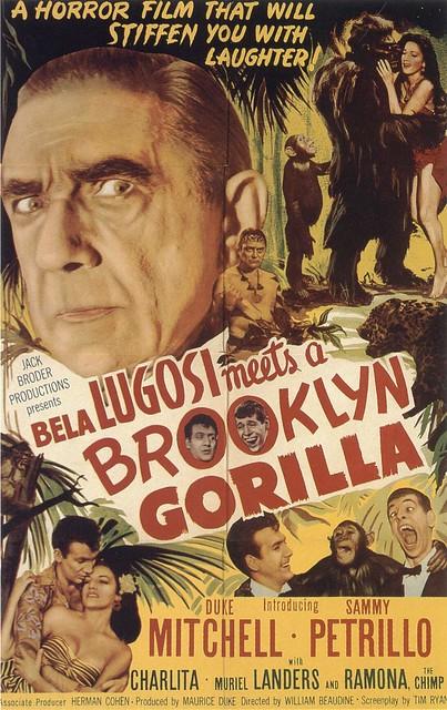 Bela Lugosi Meets A Brooklyn Gorilla (Poster)
