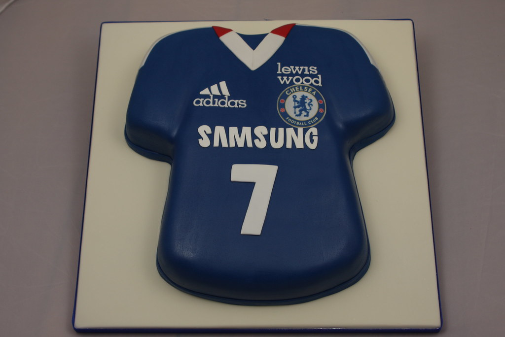 152771f04 ... Chelsea Football Shirt Cake