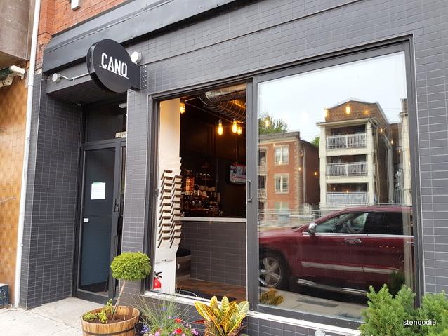 CANO Restaurant storefront