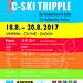 Závody na kolečkových lyžích v Krušlově