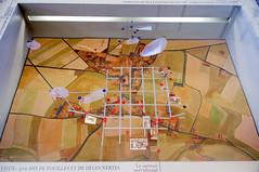 Plan de Aregenua superposé à celui de Vieux