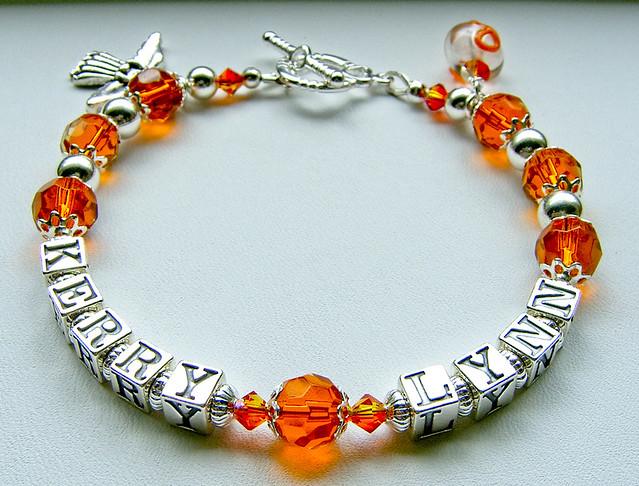 leukemia awareness name bracelet flickr photo
