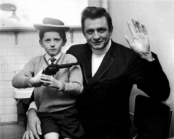 Johnny Cash, by Ian Wright