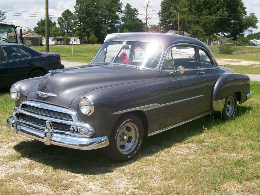 1951 CHEVY BUSINESS COUPE