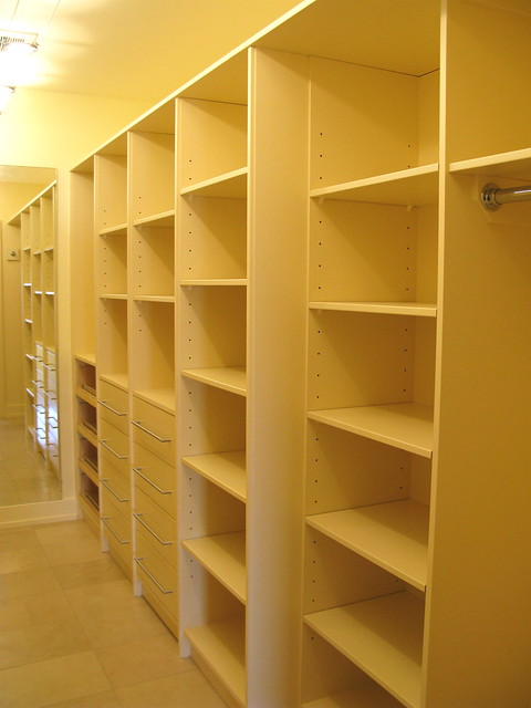 Mdf lacquered closet shelving flickr photo sharing for A z kitchen cabinets ltd calgary