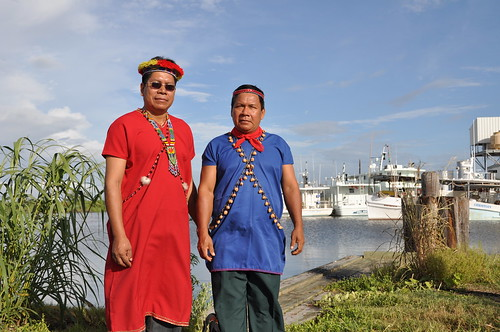Ecuadorean Indigenous Leaders Visit Gulf Coast Oil Impacted Communities