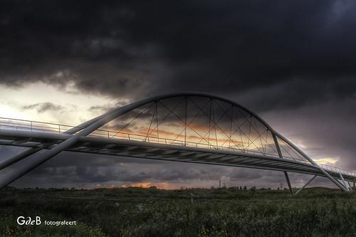 highdynamicrange viewfromwork fietsbrug westzaan hoogtij gdebfotografeert kunstdrukkerijmercurius