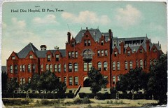 Hotel Dieu Hospital El Paso Texas Postcard 1909 Flickr