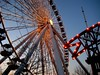 ferris wheel and navy pierl\