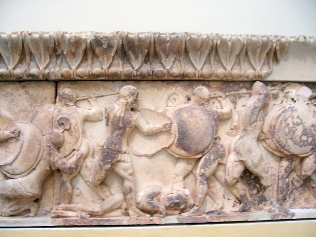 North Frieze of Siphnian Treasury, Delphi