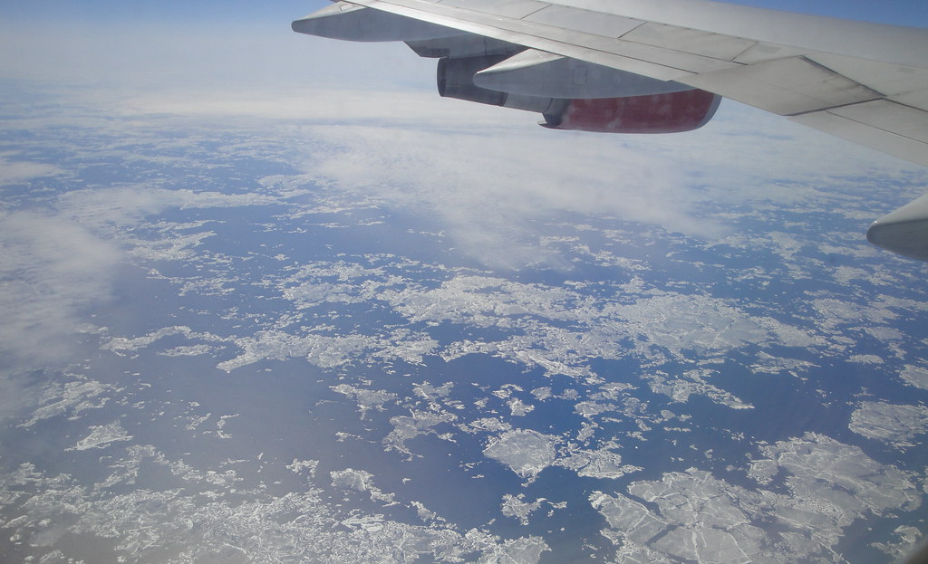 Ice on Hudson Bay