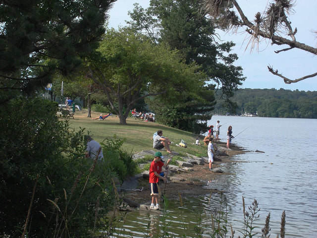 Families at Lake Quannapowitt; Wakefield, MA (2010)