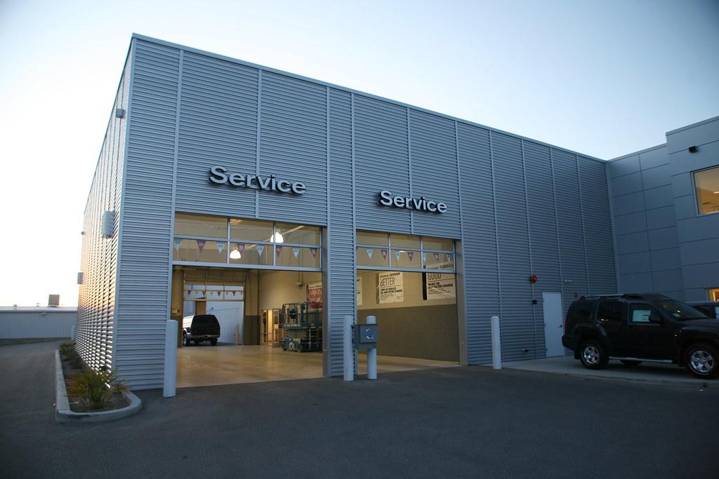 Sonora Nissan Service Department Doors Yuma AZ