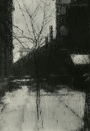 Scene From the Window of My Atelier, by Josef Sudek ca. 1940-45