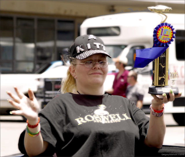 Roswell UFO Parade -Winner-